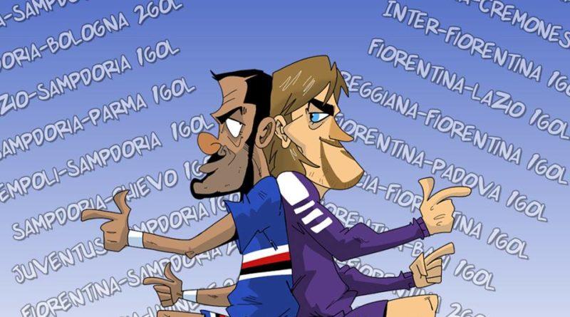 Quagliarella raggiunge il record di Batistuta di FIFA comics