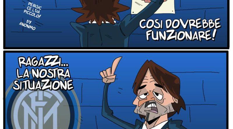 Spalletti si traveste da Conte di FIFA comics