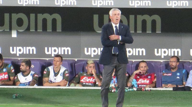 Ancelotti al Napoli - Fonte: Federico Berni