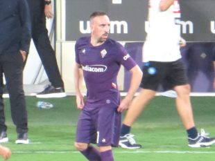 Ribery alla Fiorentina - Fonte: Federico Berni