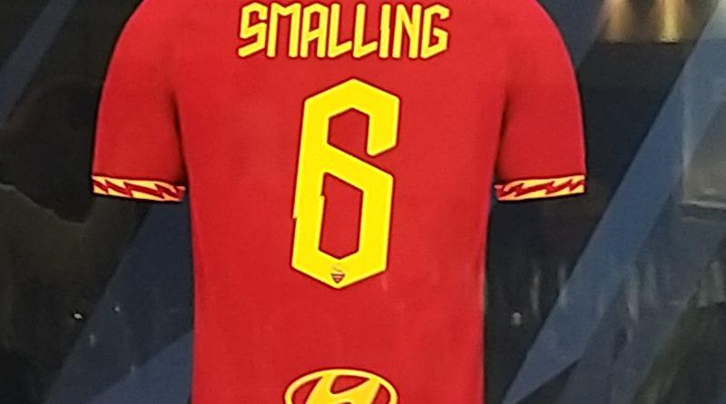 Roma, presentazione di Smalling