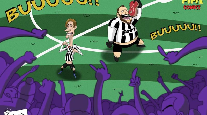 Bernardeschi e Higuain stendono la Fiorentina di FIFA comics