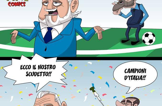 Bianchi, Rossi e Verdi rifiutano il Napoli di FIFA comics