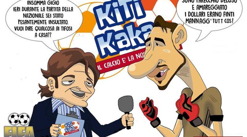 Donnarumma e i dollari finti a Tiki Taka di FIFA comics