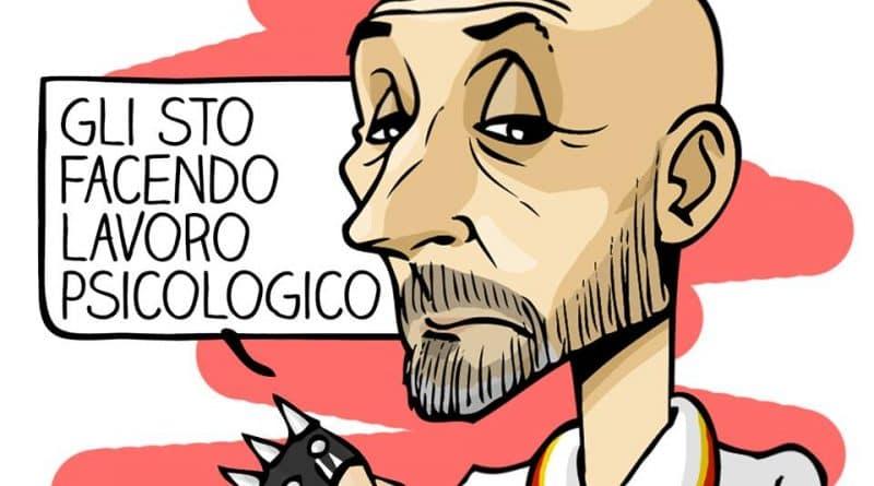 Dzeko cattivo di Michelangelo Manente