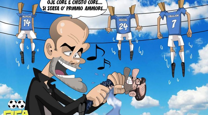 Guardiola strizza il Napoli di FIFA comics