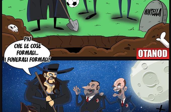 Montella guarda il suo funerale dal vivo di FIFA comics