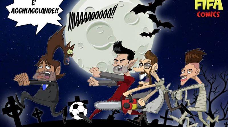 Roma-Chelsea di FIFA comics