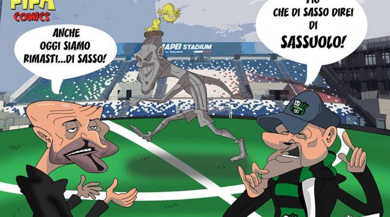 Sassuolo-Inter 1-0 di FIFA comics