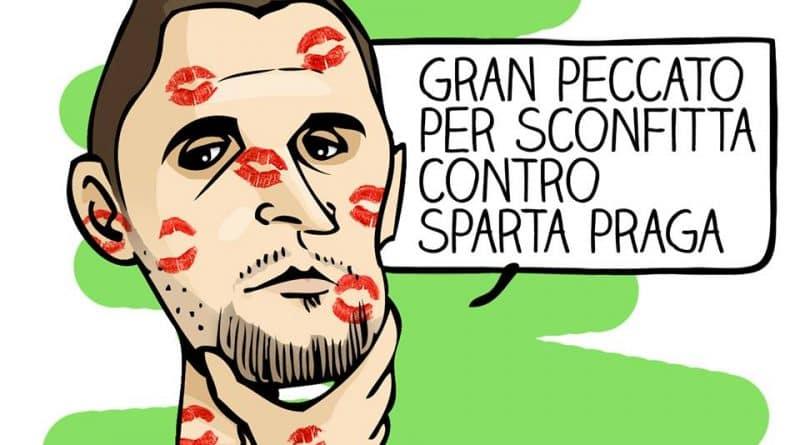 Sparta Praga-Inter di Michelangelo Manente