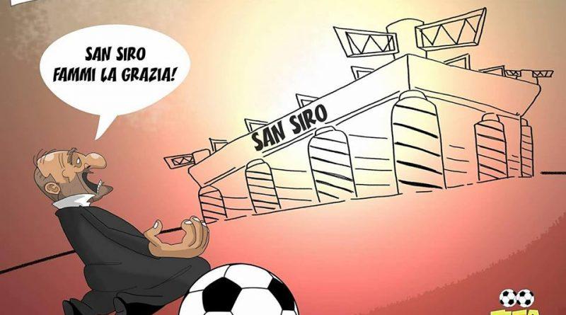 Ventura prega San Siro di FIFA comics
