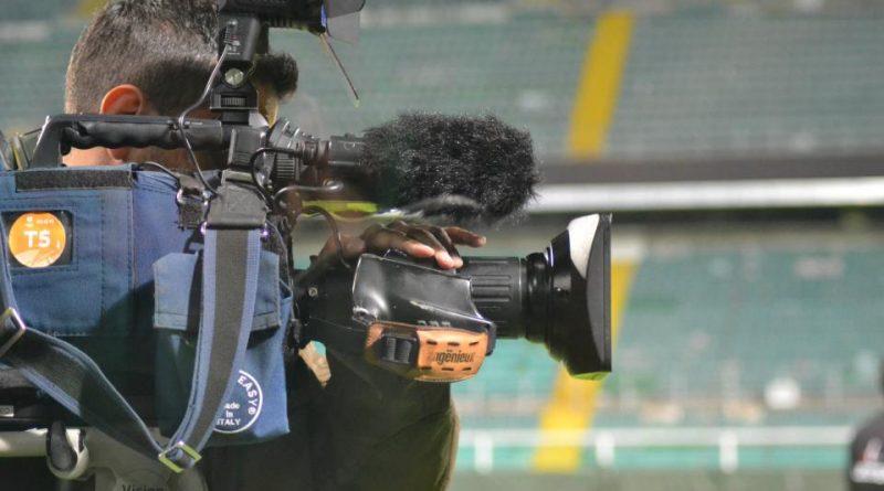 Serie A - Telecamera televisione sky