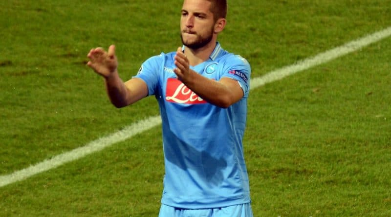 Dries Mertens (Fonte: foto-calcio-napoli.it Danilo Rossetti)