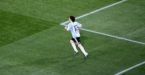 Lionel Messi Fonte: Rafael Alvarez (Flickr.com)