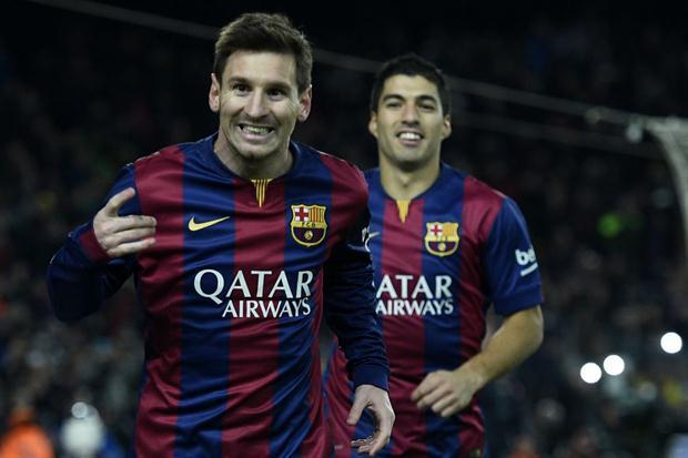 Messi e Suarez (Fonte: Ver en Vivo en Directo - Flickr)