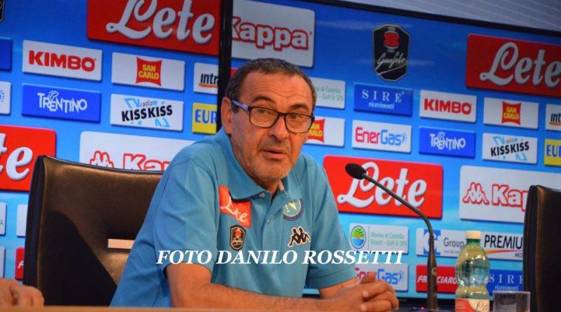 """Maurizio Sarri (Fonte: Facebook """"Foto Calcio Napoli - Danilo Rossetti"""")"""