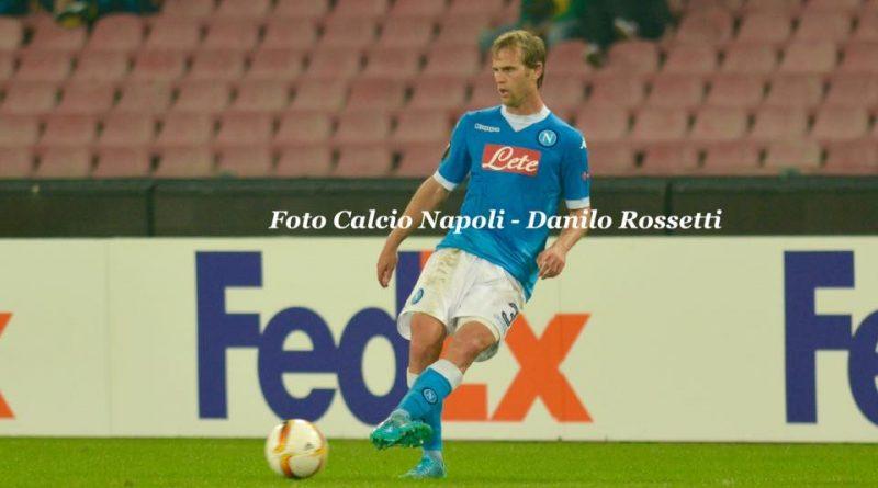 """Strinic - Fonte: Pagina Facebook """"Foto Calcio Napoli - Danilo Rossetti"""""""