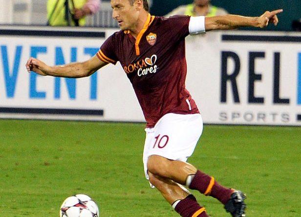 Totti - Fonte immagine: Warrenfish - Wikipedia