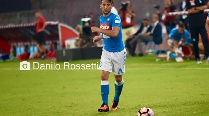 Mertens - Fonte: Foto Calcio Napoli - Danilo Rossetti (Facebook)