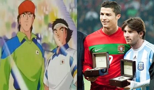 Holly e Benji pronti ad incontrare Cristiano Ronaldo e Messi