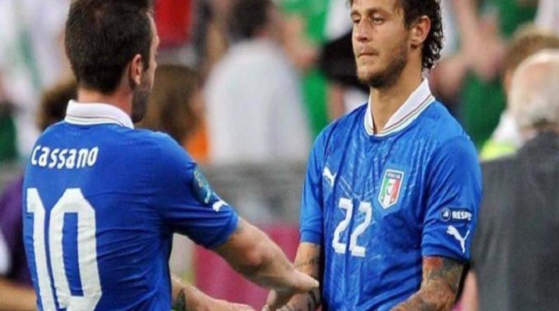 Diamanti e Cassano ad Euro 2012 - Fonte immagine: bolognafc.it