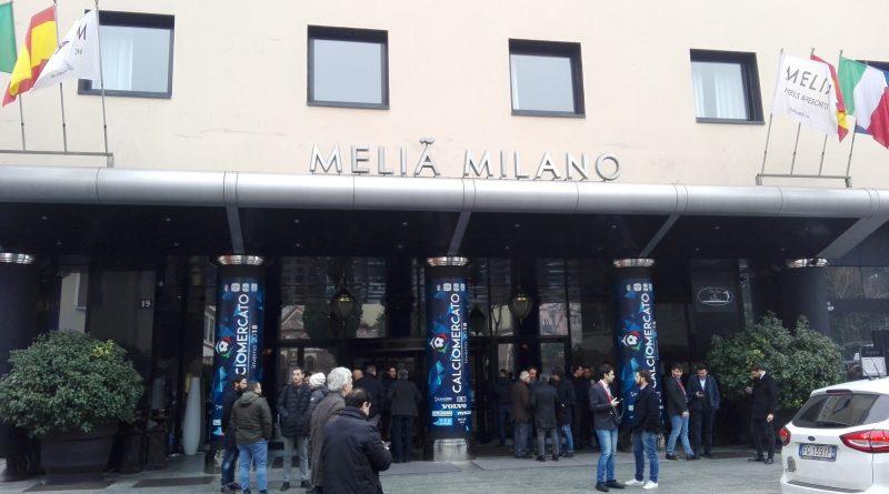 Hotel Melià - Calciomercato Fonte: Simone Rabuffetti