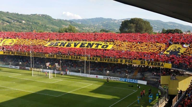 Serie B, Curva Benevento - Fonte: Antareslop, Wikipedia