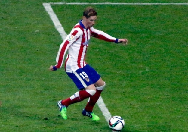Torres all'Atletico Madrid - Fonte immagine: Anish Morarji, Wikipedia