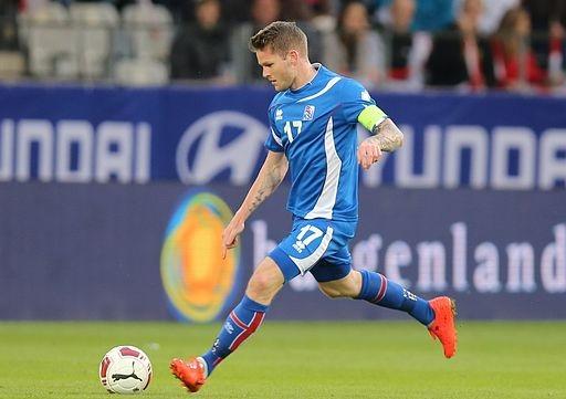 Gunnarsson, capitano dell'Islanda - Fonte: Tobias Klenze, Wikipedia