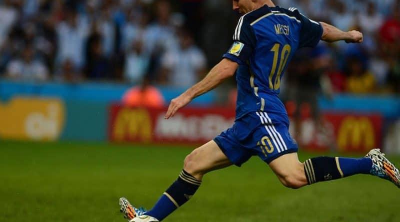 Messi nell'Argentina - Fonte: Agência Brasil, Wikipedia