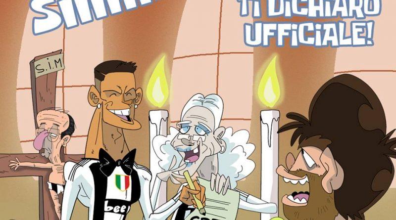 Cristiano Ronaldo sposa la Vecchia Signora di FIFA comics