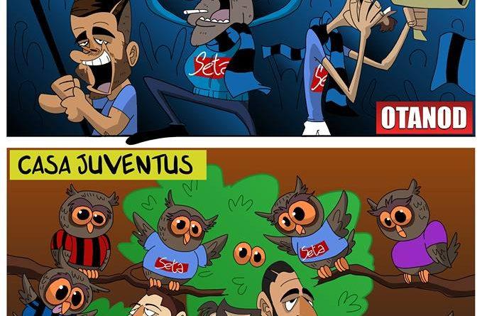 Il Napoli gufa in vista di Inter-Juventus di FIFA comics