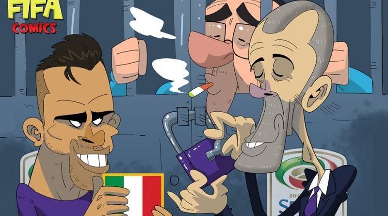 La Fiorentina chiude il campionato di FIFA comics