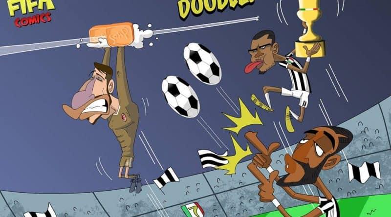 La Juventus vince la Coppa Italia anche grazie a Donnarumma di FIFA comics