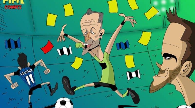 Orsato protagonista di Inter-Juventus di FIFA comics