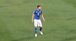 Italia, Jorginho in azione - Fonte immagine: Lorenzo Cristofaro