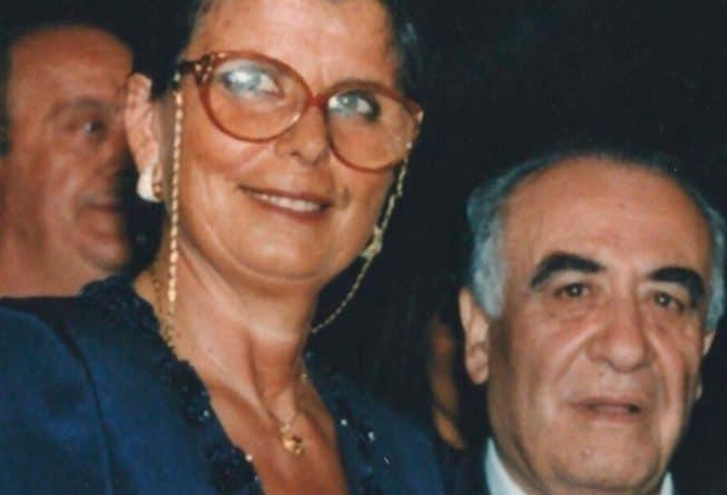 Maria e Franco Sensi - Fonte immagine: OfficialAsRoma, Twitter