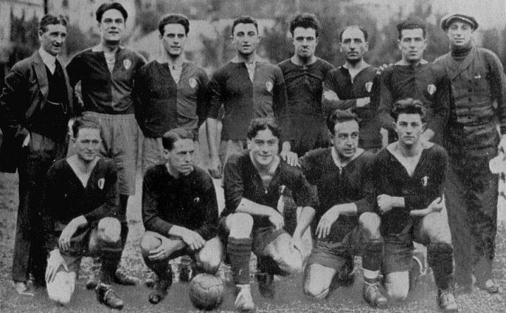 foto: Genoa cfc 1924-1925 fonte: pianetagenoa1893.net