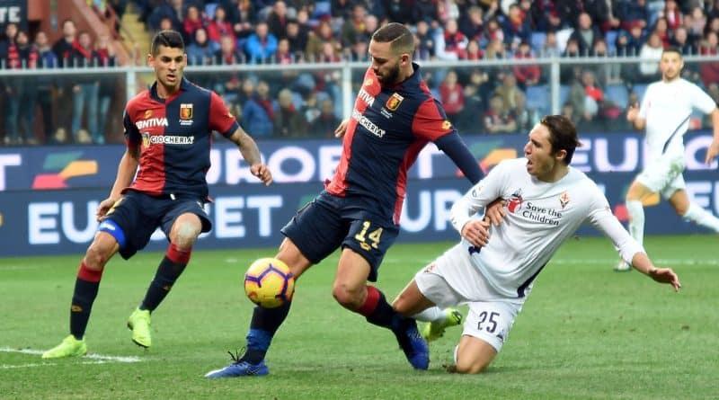 Biraschi e Chiesa Genoa-Fiorentina Fonte: genoacfc.it