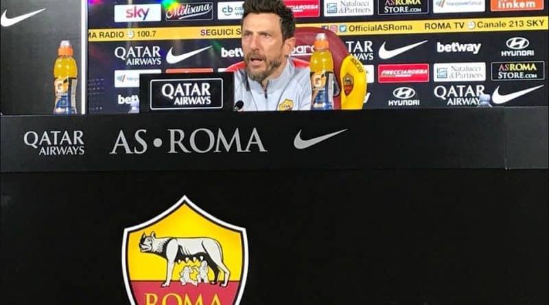 Roma, Di Francesco in conferenza