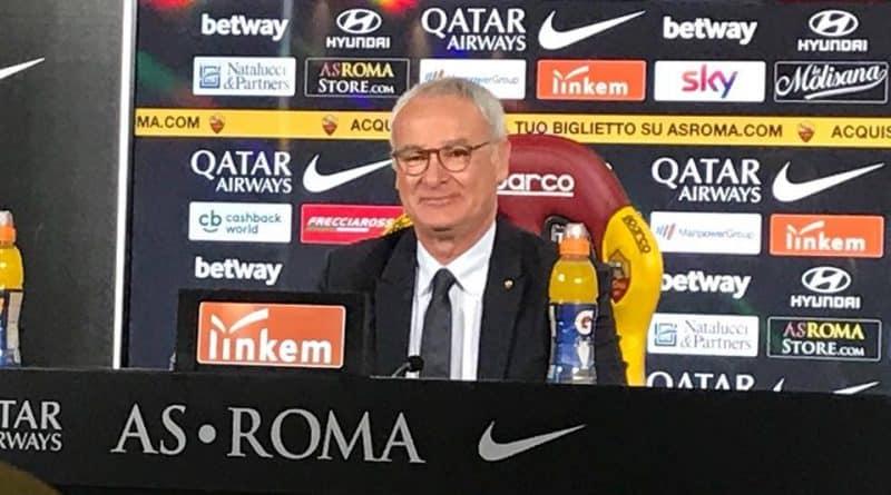 Roma, Ranieri in conferenza - Fonte: Lorenzo Sambucci