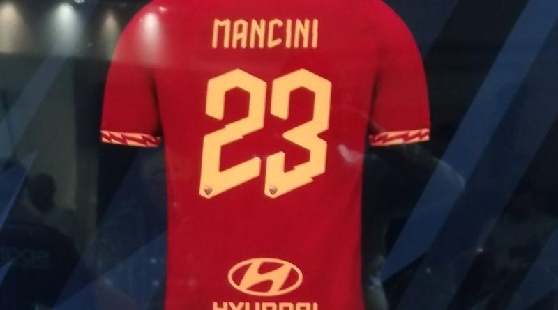 Roma, presentazione di Mancini