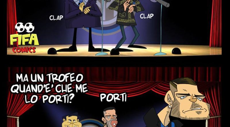 Mahmood le canta a Icardi di FIFA comics