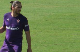 Caceres alla Fiorentina di Federico Berni