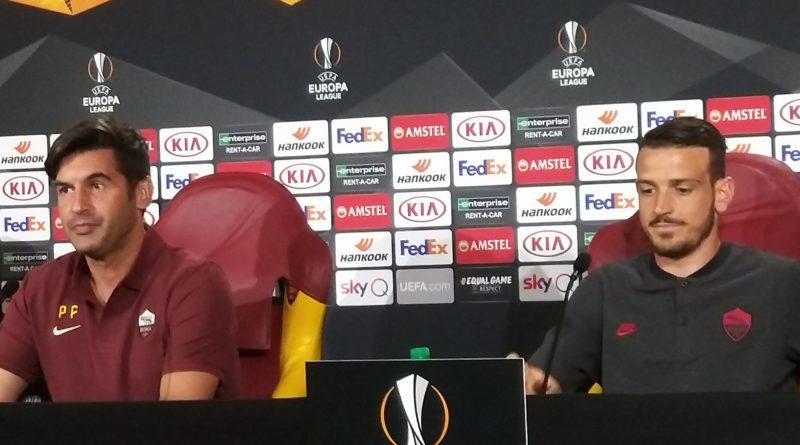 Roma, Fonseca e Florenzi in conferenza