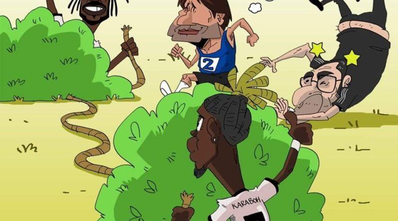 Juventus e Inter inciampano contro Lecce e Parma di FIFA comics