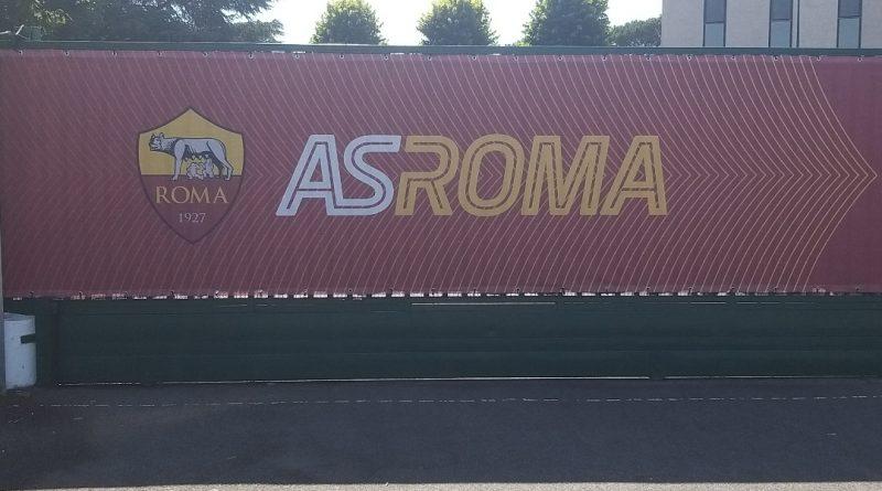 Il centro sportivo della Roma a Trigoria