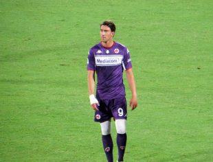 Vlahovic alla Fiorentina di Federico Berni